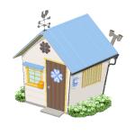 幸せを呼ぶクローバーの家【空】