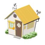 幸せを呼ぶクローバーの家【黄】