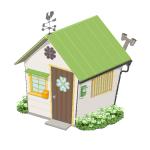 幸せを呼ぶクローバーの家【草】