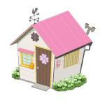 幸せを呼ぶクローバーの家【桃】