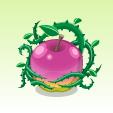 魔女のリンゴ【紫】
