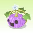 ハロウィンかぼちゃ【紫】