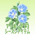 アサガオ【青】
